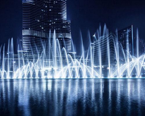Dubai Fountain Show + plimbare pe lac